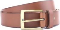 Louis Philippe Men Tan Genuine Leather Belt Tan