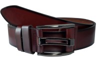 Ammvi Creations Men Casual Brown Synthetic Belt Coffee Brown, Brown