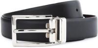 Louis Philippe Men Black, Brown Genuine Leather Reversible Belt Black / Burgandy