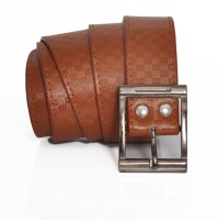 Stylox Men Casual Brown Synthetic Belt Brown
