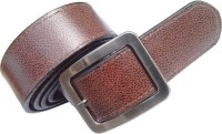 Generic Men Semi-formal Brown Synthetic Belt (Brown)