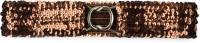 Ajara Girls Party Brown Plastic Belt Brown-018