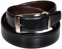 Swan Collection Boys, Men Formal, Casual, Evening Black, Brown Artificial Leather Reversible Belt Black3, Brown3 - BELE7TUHQYST2GTE