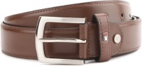 Tommy Hilfiger Men Brown Genuine Leather Belt Brown