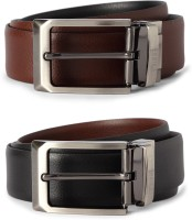 Van Heusen Men Brown Genuine Leather Belt Brown