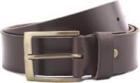 Louis Philippe Men Brown Genuine Leather Belt Brown