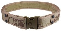 Ruvee Boys, Men, Girls, Women Beige Fabric Belt Military Beige