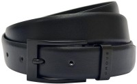 Cross Men Casual, Formal, Party Black Genuine Leather Belt Black