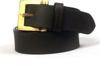 Tessodor Men Casual Black Genuine Leather Reversible Belt (Black_03)