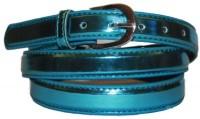 Authority Women Evening/Party Blue Genuine Leather Belt Blue