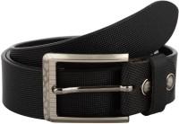 True Grits Men, Boys Formal, Casual, Party Black Genuine Leather Belt Black