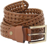 Naitik Products Women Casual Brown, Brown Genuine Leather Belt Brown