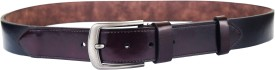 ABHINAVS Men Casual, Casual Black, Brown Genuine Leather Belt