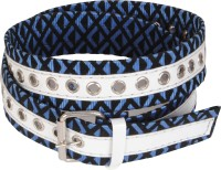 Bs Spy Women Casual Blue Fabric Belt Blue-87