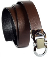 Magiq Men Casual Black, Brown Artificial Leather Reversible Belt BLACK, BROWN
