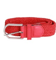 Caricature Clothing Men Casual Red Synthetic Belt Red01