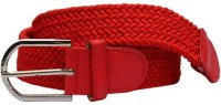 Winsome Deal Men, Women Formal, Casual Red Canvas Belt Red