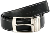 Tanz Men Casual Black, Brown Artificial Leather Belt Black-06