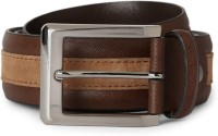 Van Heusen Men Brown Genuine Leather Belt Brown - BELEE964RGY6G3PF