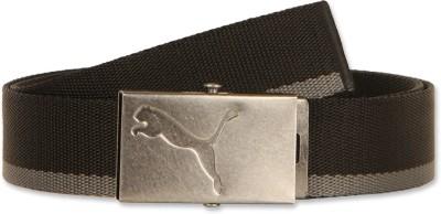 Puma Men Casual Grey Synthetic Belt 01