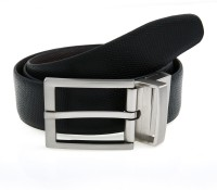 Lino Perros Men Formal Black, Brown Genuine Leather Reversible Belt Black, Brown - BELEYW8GFRM6MNXQ