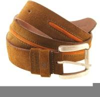 Swiss Military Men Brown Genuine Leather Belt Brown-5