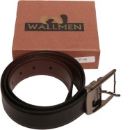 Wallmen Men, Boys Casual Black, Brown Artificial Leather Reversible Belt Black/Brown - BBKBNP19