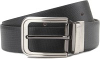 Van Heusen Men Belt Grey/Brown