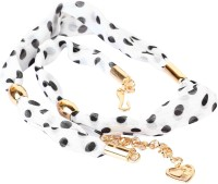 Addons Women Casual Fabric Belt White
