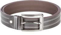 Chisel Men Casual Brown Artificial Leather Belt (Brown)