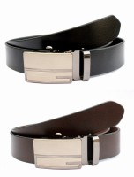 Tops Men, Women Formal Black, Brown Genuine Leather Belt (Black, Brown) - BELE4JCPWG5ECQYJ