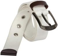 Aarip Boys, Girls, Men, Women Casual, Formal White Canvas Belt White-01