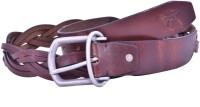 Bonafide Leathers Men Brown Genuine Leather Belt Brown
