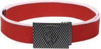 Puma Men Casual Red Synthetic Belt Red