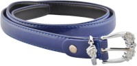 Bootwale Women Party, Formal, Evening, Casual Purple Artificial Leather Belt Purple