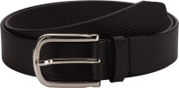 Orkee Men Casual Brown Artificial Leather Belt Black-09