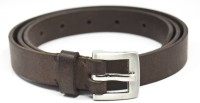 Crapgoos Women, Girls Casual, Formal, Party Brown Genuine Leather Belt Brown