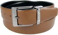 Reven Men Formal Black Genuine Leather Reversible Belt Black And Brown - BELEC88YN7ZGZYHS