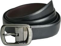 ABHINAVS Men Formal, Party Blue, Brown Genuine Leather Reversible Belt BLACK, Brown