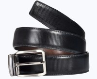 Saugat Traders Men, Boys Casual, Formal, Evening, Party Black, Brown Artificial Leather Reversible Belt Black, Brown