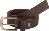 Flyer Men Party Brown Genuine Leather Belt OO8