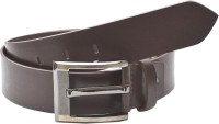 BROUNPLUS Boys, Men Casual, Evening, Party Brown Genuine Leather Belt BROWN - BELEHY5QHMEH7VAU