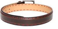Mast & Harbour Men Brown Genuine Leather Belt Brown