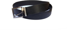 Indo Pelle Men, Boys Formal, Formal Black Genuine Leather Belt