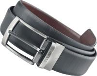 Titan Men Casual Black, Brown Genuine Leather Belt Black And Brown