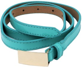 WOAP Girls Casual, Party Green Artificial Leather Belt