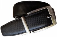 Winsome Deal Men Formal Black Artificial Leather Reversible Belt (Black)
