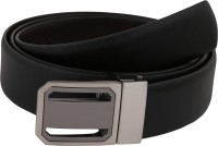 Vinson Massif Men, Boys Formal, Party, Casual, Evening Black Genuine Leather Reversible Belt Black-Brown
