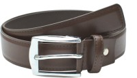 Leather Hub Men Formal Brown Artificial Leather Belt Brown - BELEBXZSZM3C9SGX