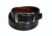 Swan Collection Boys, Men Formal, Casual, Evening Black, Brown Artificial Leather Reversible Belt Black3, Brown3